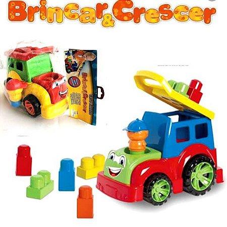 Carro Didatico de Encaixe - Brinquedo Educativo de  montar - Carrinho COLOR - Diviplast 130 pex1.5