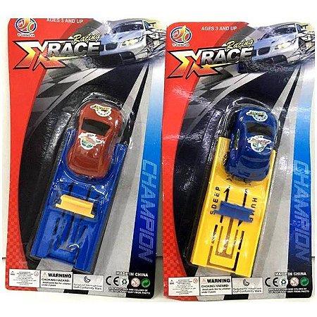 Lancador de Carrinho de Corrida - Carro X Race - BA10292