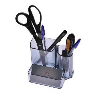 Organizador de Mesa - Porta Lapis - Porta Caneta - Porta Clips - Acrilico - Ref 0347 Decor-Útil