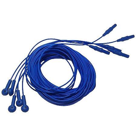 Eletrodo de alpaca com 2,5 m de comprimento (pernas) - Embalagem com 5 unidades