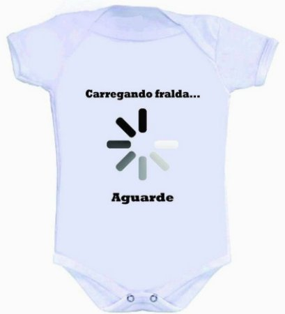 Body - Carregando Fralda