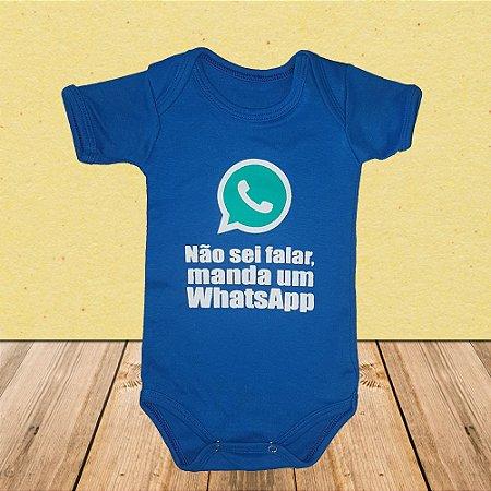 Body Não sei falar, manda um Whatsapp