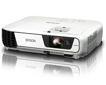 Projetor Epson PowerLite X36+  3600 lumens XGA  USB com Adaptador Wireless Com NF-E