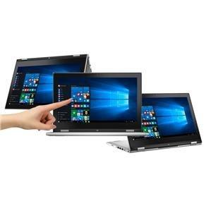 Notebook 2 Em 1 Dell I7-5500u, 13,3 Touch, 8gb, 500gb Hdssd COM Nfe
