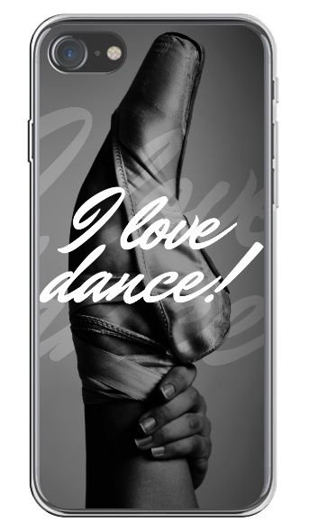 CAPA APPLE IPHONE I LOVE DANCE
