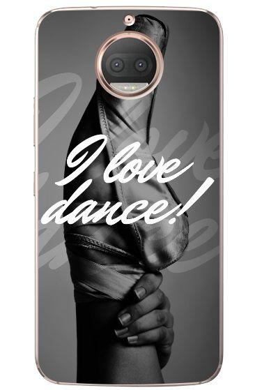 CAPA PARA MOTOROLA I LOVE DANCE