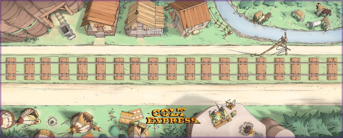 Playmat Colt Express