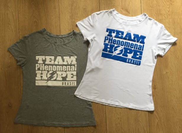 Camiseta Team Phenomenal Hope Brasil