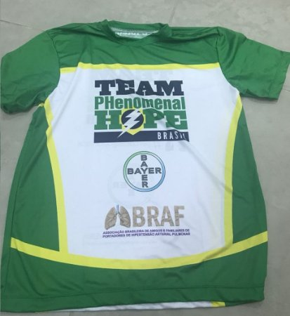 Camiseta Running - Uniforme Team PH Brasil - Personalizada - Masculina