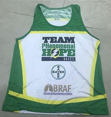 Regata Running - Uniforme Team PH Brasil - Personalizada - Feminina