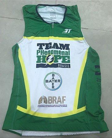 Top Triathlon Sem Manga - Uniforme Team PH Brasil - Personalizado - Masculino