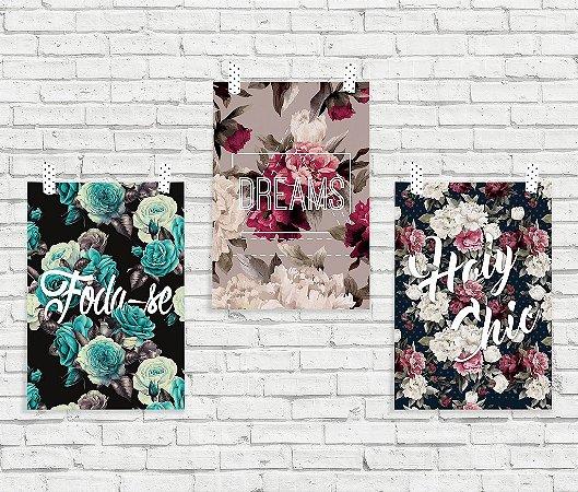 Kit Floral Vintage