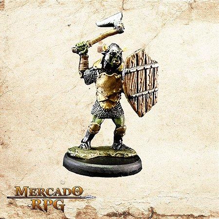 Orc - Machado e Escudo