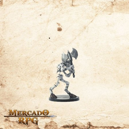 Minotaur skeleton - Com carta