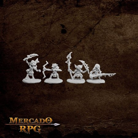 Pathfinder Goblin Warriors (4)