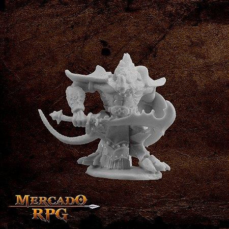 Kar'Drakir, Reptus Dragonman Warrior