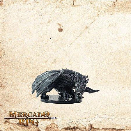 Adult Gray Dragon - Com Carta
