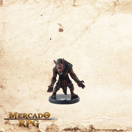Gnoll Claw Fighter - Sem carta