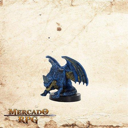 Blue Wyrmling - Com carta