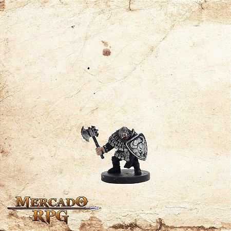 Hill Dwarf Warrior  - Com Carta