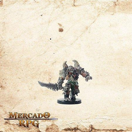 Warforged Barbarian - Com carta