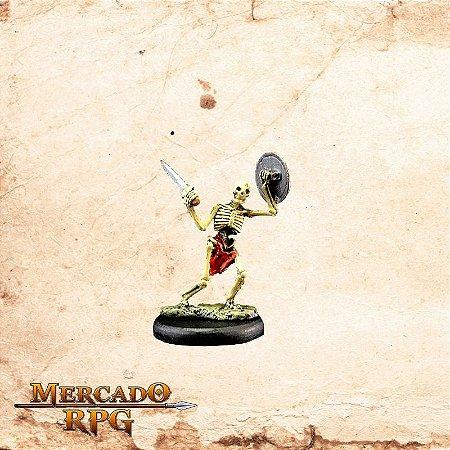 Esqueleto – Espada e Escudo
