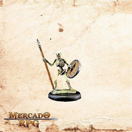Esqueleto – Lança e Escudo