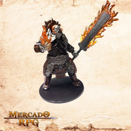 Fire Giant (Flaming Sword)
