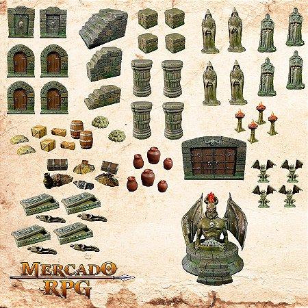 Kit acessórios Dungeon