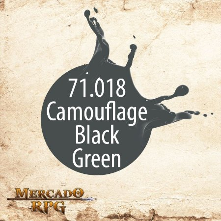 Camouflage Black Green 71.018