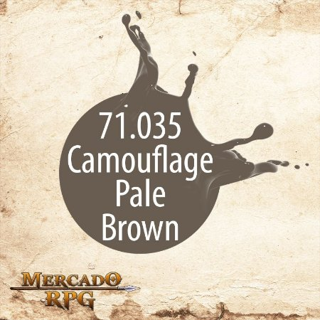 Camouflage Pale Brown 71.035