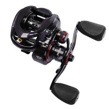 Carretilha Marine Sports Lubina Black Widow GTX 9.5:1 11 Rolamentos