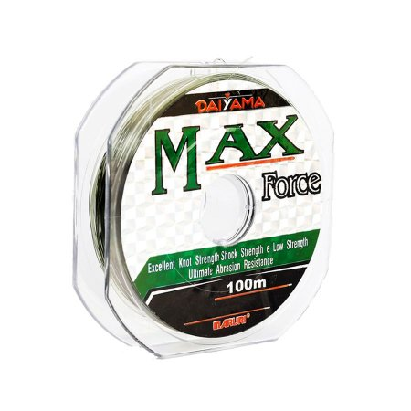 Linha Monofilamento Maruri Max Force 0.33mm 24lb 11kg 100m