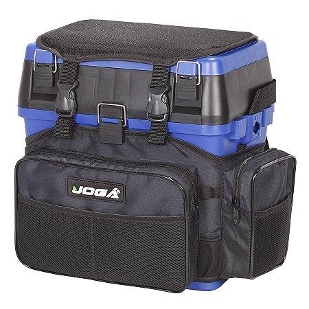 Mochila Multifuncional Jogá Fishing Box Azul