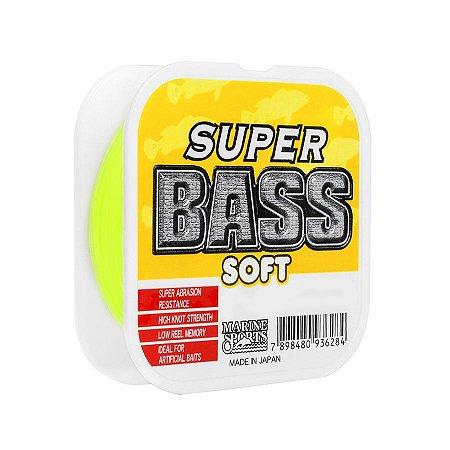 Linha Soft Marine Super Bass 0.33mm 17lb 7,7kg 250m Amarela