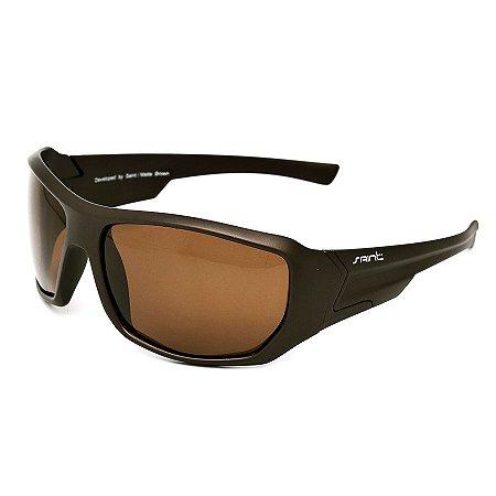 Óculos de Sol Polarizado Saint Matte Brown