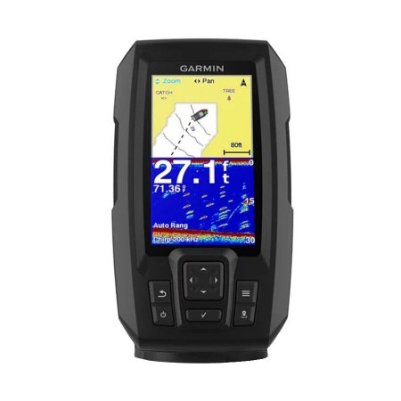 """Sonar para Pesca Garmin Striker 4 Plus com Transdutor Tela 4,3"""""""