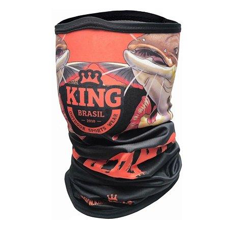 Bandana de Pesca King BDNVK10 Pirarara Proteção Solar UV 30+