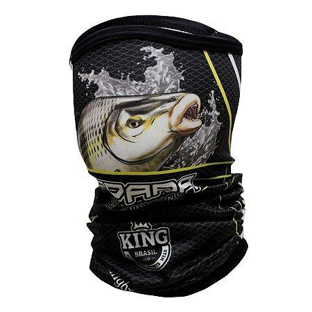 Bandana de Pesca King BKB305 Piapara Proteção Solar UV 30+