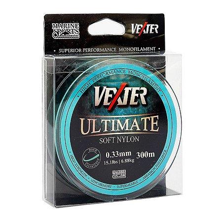 Linha Soft Vexter Ultimate Marine Sports 0.33mm 15,1lb 6,88kg 300m Azul
