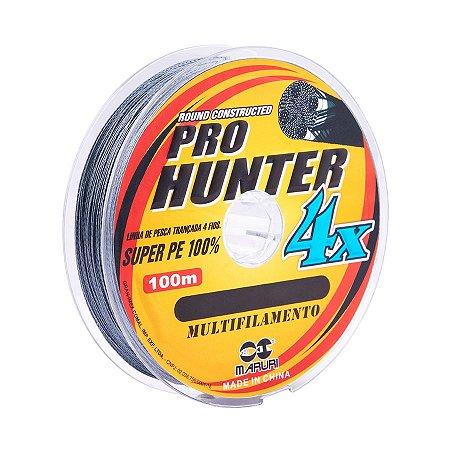 Linha Multifilamento Maruri Pro Hunter 4x 0.18mm 27lb 13kg 100m
