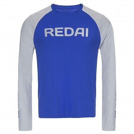 Camiseta de Pesca Redai Perfomance Raglan Oceano
