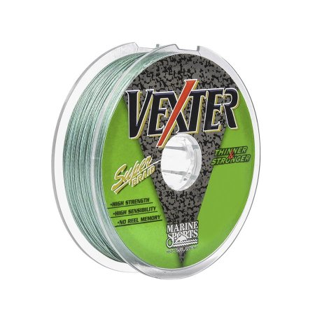 Linha Multifilamento Marine Sports Vexter Green 0.29mm 40lb 18,12kg 100m