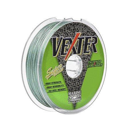 Linha Multifilamento Marine Sports Vexter Green 0.40mm 60lb 27,2kg 100m