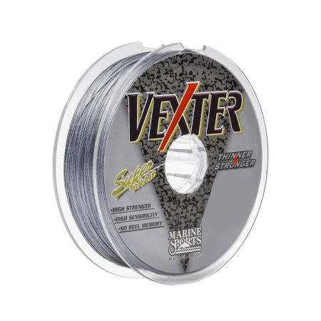 Linha Multifilamento Marine Sports Vexter Grey 0.15mm 15lb 6,8kg 100m