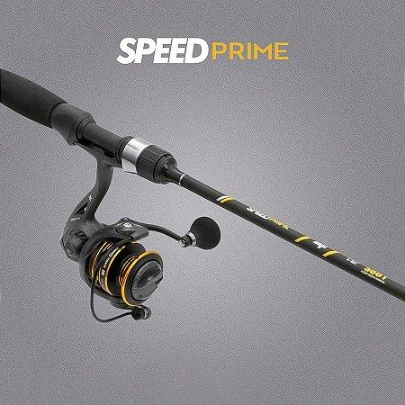 Conjunto Ultralight Albatroz Molinete + Vara Speed Prime