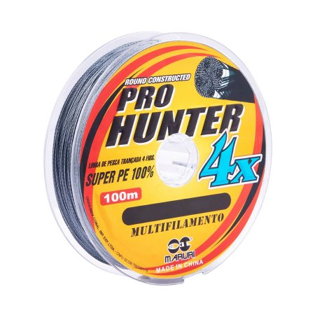 Linha Multifilamento Maruri Pro Hunter 4x 0.45mm 62lb 27,21kg 100m