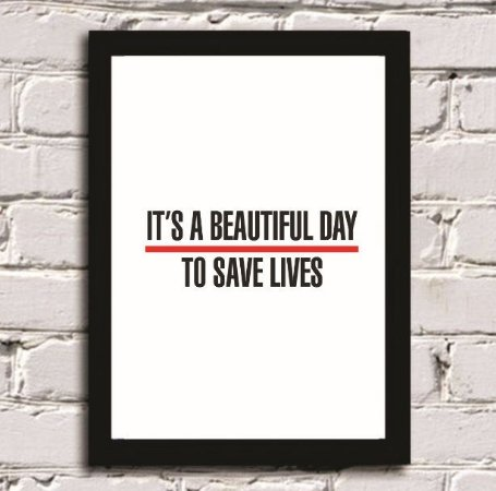 QUADRO - It's a beautiful day to save lives