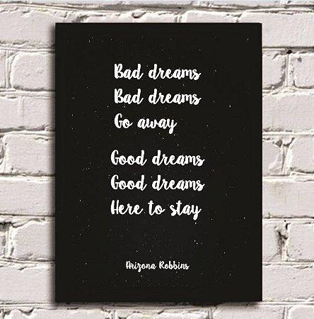 QUADRO - Bad dreams go away