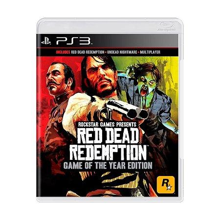 Red Dead Redemption Edição Jogo do Ano Ps3 - USADO